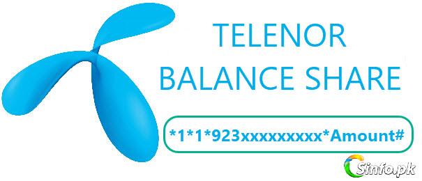 Telenor Balance Share Code 2019 - How To Smart Share Telenor