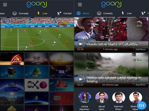 Telenor Pocket Tv App - Watch Live Tv Channels On Goonj Tv